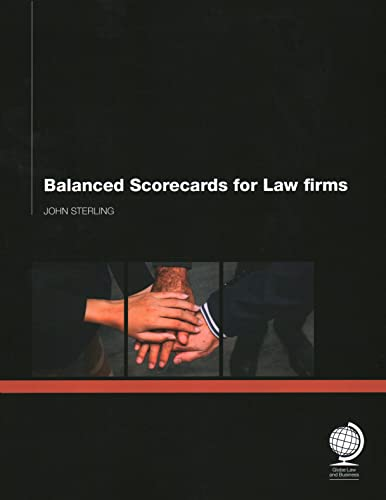 9781906355555: Balanced Scorecards for Law Firms