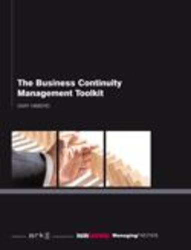 9781906355753: Business Continuity Management Toolkit