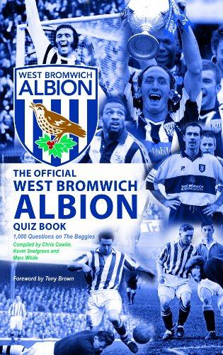 The Official West Bromwich Albion Quiz Book: Chris Cowlin