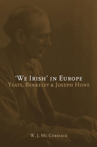 'We Irish' in Europe: Yeats, Berkeley and Joseph Hone