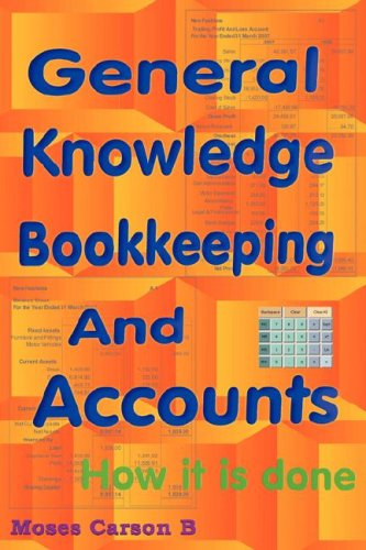 9781906380090: General Knowledge Bookkeeping and Accounts