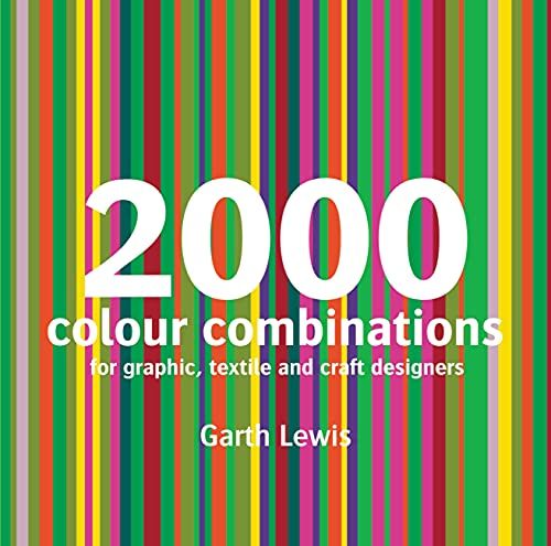 9781906388126: 2000 Colour Combinations: For Graphic, Textile, and Craft Designers