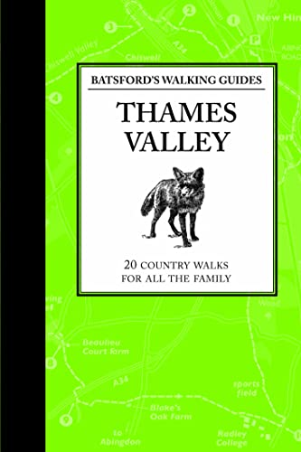 9781906388874: Thames Valley (Batsford's Walking Guides)