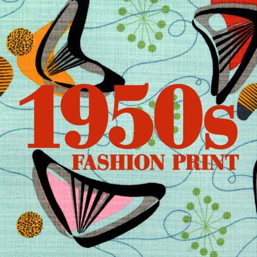 9781906388881: 1950s Fashion Print