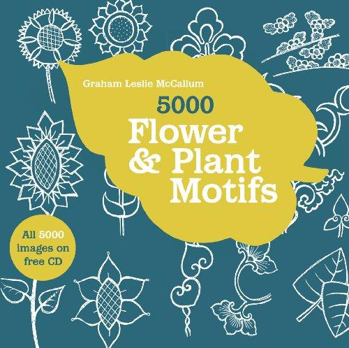 9781906388928: 5000 Flower & Plant Motifs