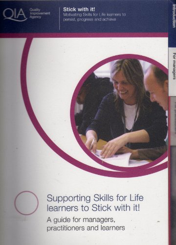 Supporting Skills for Life Learners to Stick With It! [Spiral-bound] by Quali.