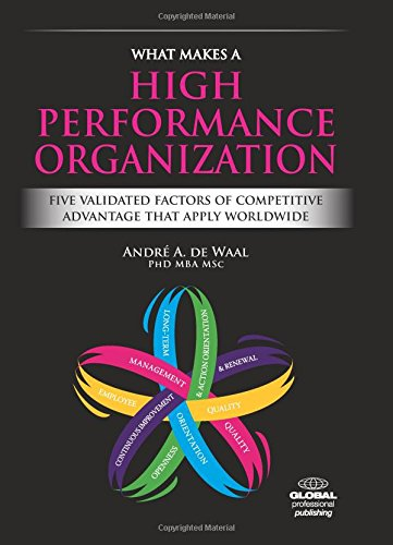 9781906403829: What Makes a High Performance Organization: Five Validated Factors of Competitive Advantage That Apply Worldwide
