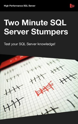 9781906434212: Two Minute SQL Server Stumpers