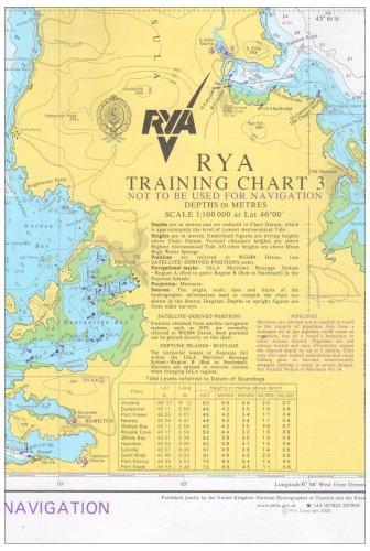 9781906435103: RYA Training Chart: No. 3