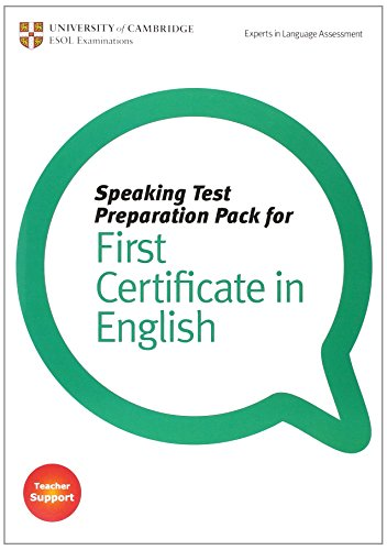 9781906438388: Speaking Test Preparation Pack for FCE Paperback with DVD