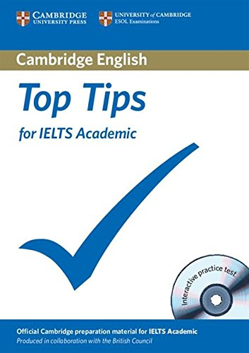9781906438722: Top Tips for IELTS Academic Paperback with CD-ROM