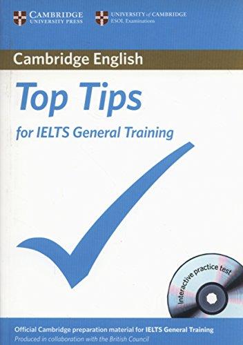 Top Tips for IELTS General Training Paperback: Cambridge ESOL