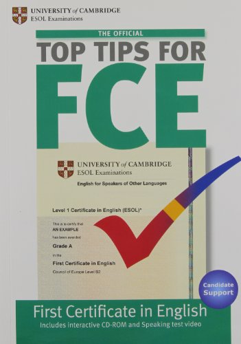 9781906438760: The Official Top Tips for FCE with CD-ROM
