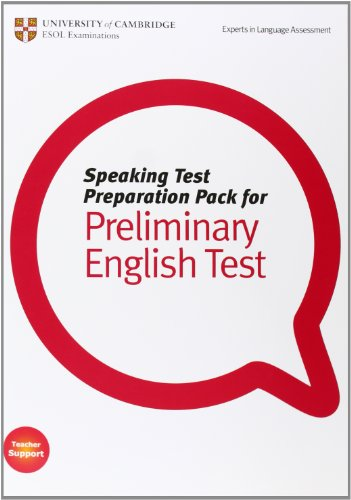 9781906438814: Speaking Test Preparation Pack for PET Paperback with DVD