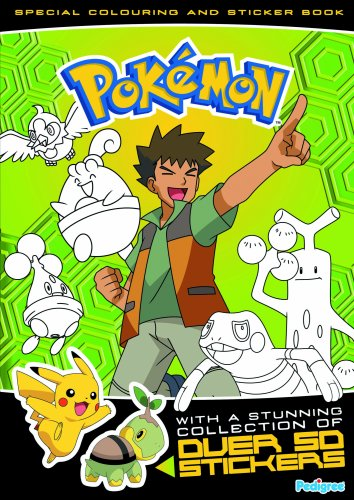 9781906450533: Pokemon Colouring and Sticker Book: Spring 2009