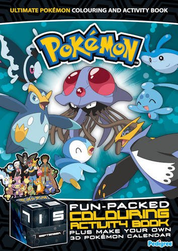 9781906450991: Pokemon Colouring & Activity Book Winter 2009