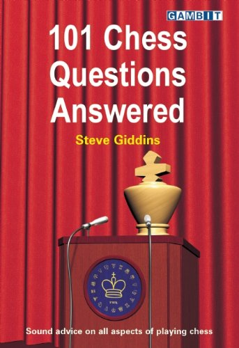 9781906454005: 101 Chess Questions Answered