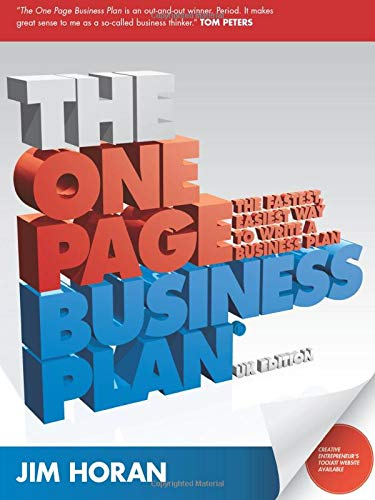 9781906465315: The One Page Business Plan: The Fastest, Easiest Way to Write a Business Plan