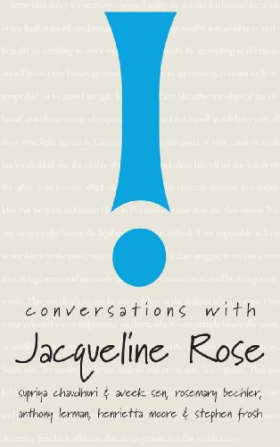 9781906497347: Conversations with Jacqueline Rose
