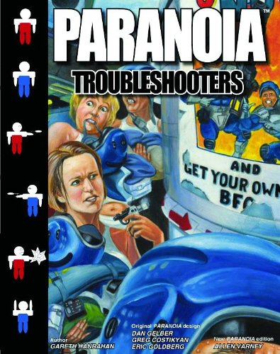 9781906508555: Paranoia: Troubleshooters