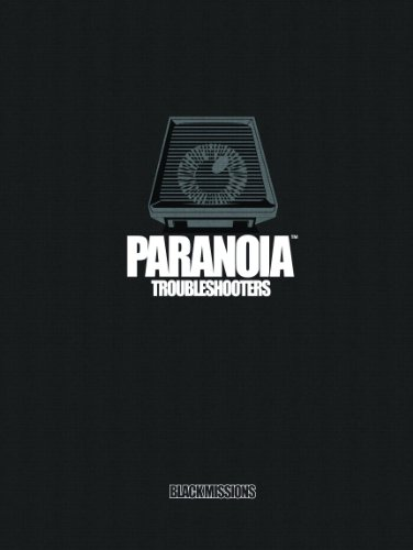 Troubleshooters: Black Missions (Paranoia): Hanrahan, Gareth