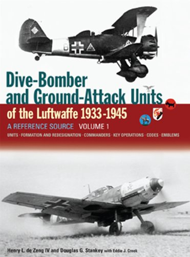 9781906537081: Dive-Bomber and Ground-Attack Units of the Luftwaffe 1933-1945: A Reference Source: Units, Formation and Redesignation, Commanders, Key Operations, Codes, Emblems
