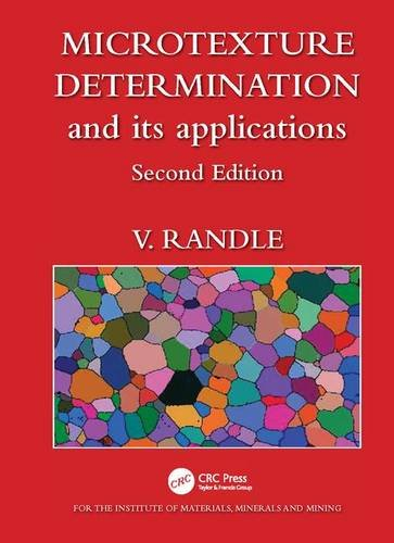 9781906540111: Microtexture Determination and Its Applications: Second Edition