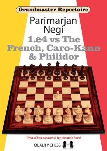 1.e4 Vs the French, Caro-kann and Philidor (Paperback): Parimarjan Negi