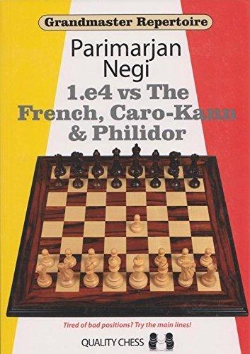 9781906552350: Grandmaster Repertoire - 1.e4 vs French, Caro-Kann... Hardcover by Parimarjan Negi (2014-01-01)
