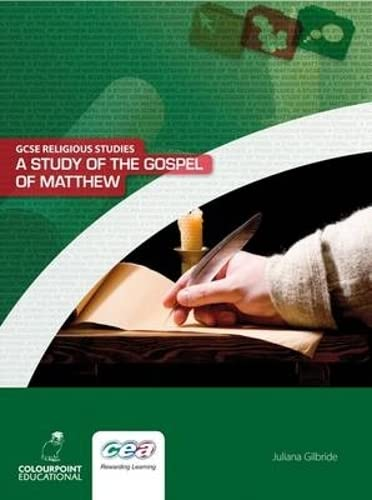 9781906578343: A Study of the Gospel of Matthew (GCSE Religious Studies)