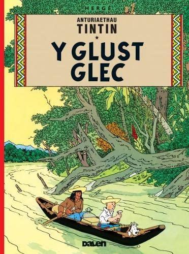 9781906587291: Y Glust Glec (Cyfres Anturiaethau Tintin) (Welsh Edition)