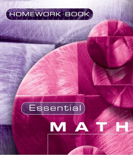 9781906622015: Essential Maths 7c Homework Book (Bk. 7C)