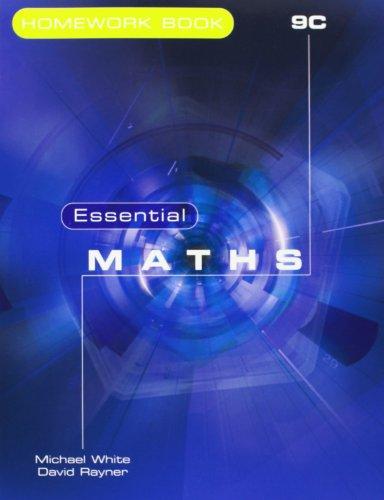 9781906622190: Essential Maths: Homework Book 9C