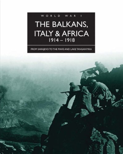 The Balkans, Italy and Africa 1914-1918: Jordan, David