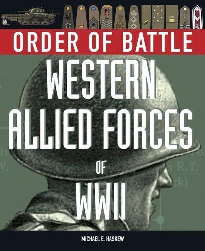 9781906626549: Order of Battle: Western Allied Forces of World War 2