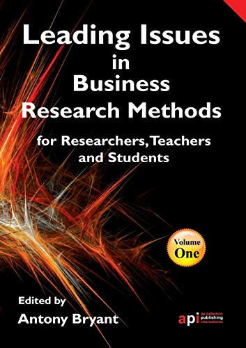 9781906638870: Leading Issues in Business Research Methods for Researchers, Teachers and Students