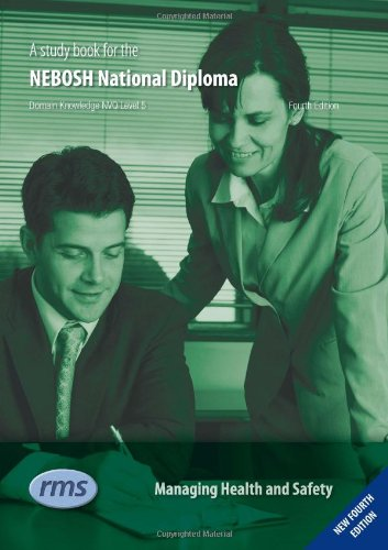 9781906674083: A Study Book for the NEBOSH National Diploma: Unit A - Managing Health and Safety