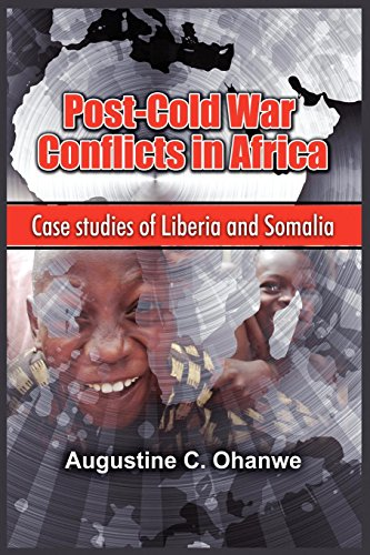 9781906704438: Post-Cold War Conflicts in Africa: Case Studies of Liberia and Somalia