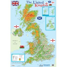 9781906707095: Map of UK