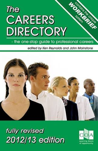 9781906711139: The Careers Directory 2012/13: The One-Stop Guide to Professional Careers