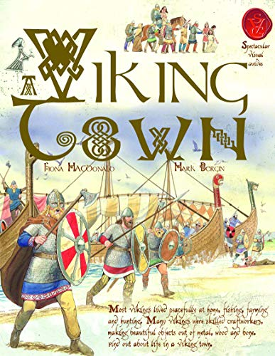 9781906714987: A Viking Town (Spectacular Visual Guides)
