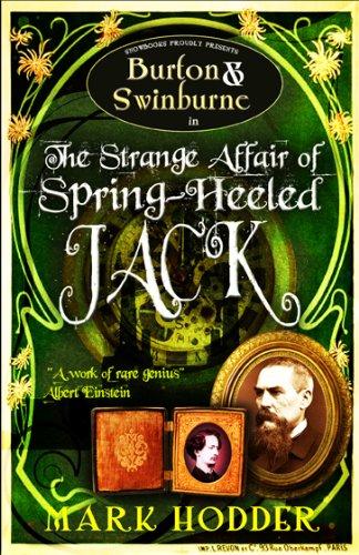 9781906727208: Burton and Swinburne in The Strange Affair of Spring Heeled Jack