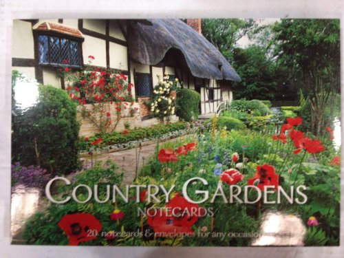 9781906734763: Country Gardens 20 Notecard Flatpack