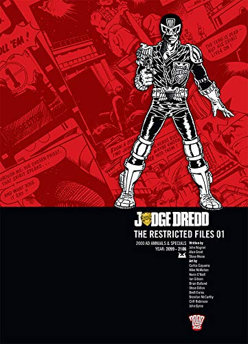 9781906735333: Judge Dredd: The Restricted Files, Vol. 1- 2000 AD Annuals & Specials, Year 2099-2106