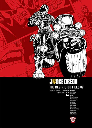 9781906735470: Judge Dredd The Restricted Files 02 2000AD Annuals & Special Year 2107-2111