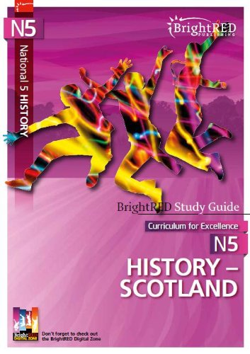 9781906736408: National 5 History - Scotland (Bright Red Study Guide) (BrightRED Study Guides)