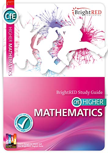 9781906736651: CfE Higher Mathematics (Bright Red Study Guide)