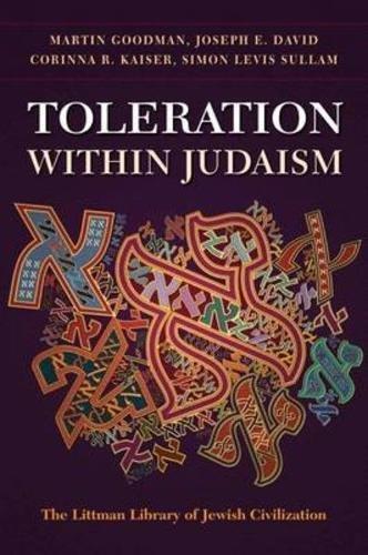 9781906764173: Toleration within Judaism (Littman Library of Jewish Civilization)