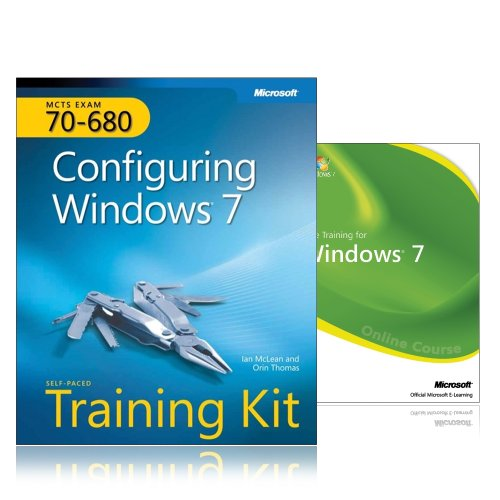 9781906795108: MCTS Self-Paced Training Kit and Online Course Bundle (Exam 70-680): Configuring Windows 7