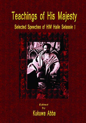 9781906801526: The Teachings of His Majesty: Selected Speeches of HIM Haile Selassie I